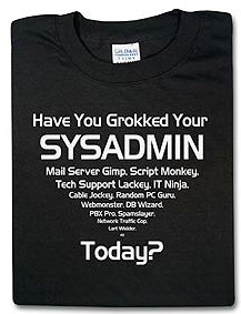 sysadmin-thinkgeek-shirt